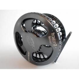 Sie traxion 3 fly reel # 5/7 gunsmoke
